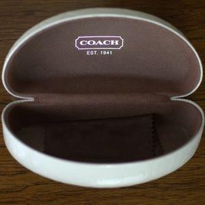 Coach Sunglasses Case with Cloth